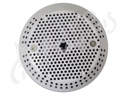 "SUCTION COVER: 3-3/4"" 124 GPM WITH SCREWS, VGB 30173U-WH"