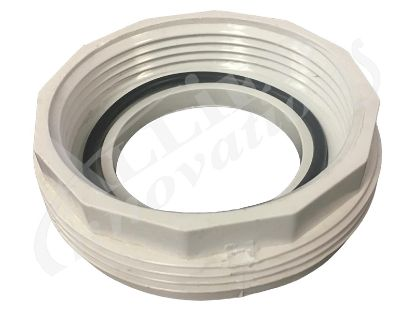"PVC ADAPTER: PUMP UNION 2"" X 2-1/2"" BUTTRESS THREAD WITH O-RING 400-6060"
