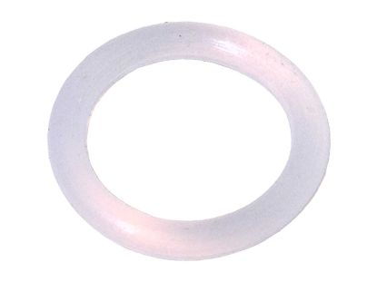 "LED LIGHT PART: O-RING SILICONE CLEAR .364""ID X .070""CS 400417"