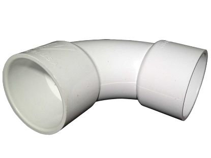 "PVC FITTING: 90° ELBOW SWEEP 1-1/2"" SLIP X 1-1/2"" SLIP 411-9110"