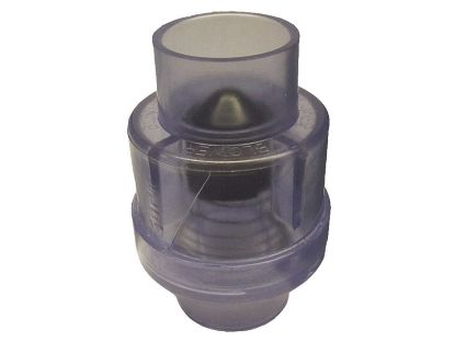 "CHECK VALVE: AIR 1-1/2"" SLIP X 1-1/2"" SLIP - 1/4LB 600-8140"