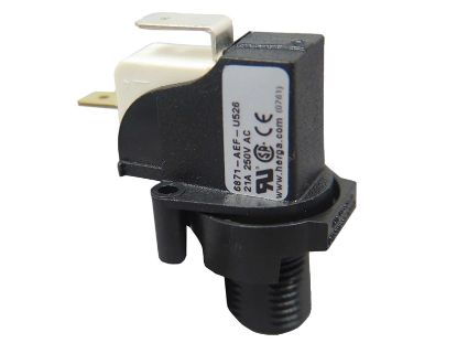 AIR SWITCH: 21AMP 2.0HP 250V SPST LATCHING 6871-AEF-U526