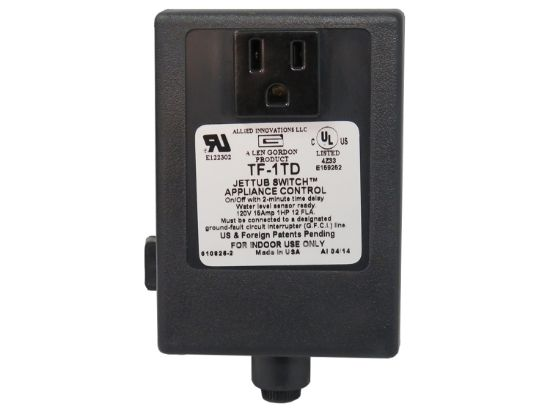 CONTROL: TF-1TD 2MIN 120V 1.0HP BULK WITHOUT BUTTON OR TUBING