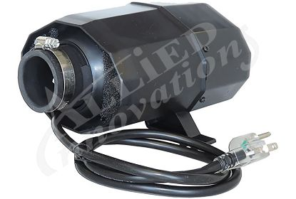 BLOWER: 1.0HP 120V WITH 600W HEATER, AIR SWITCH AND NEMA PLUG SILENT AIR SERIES ABH-616NS
