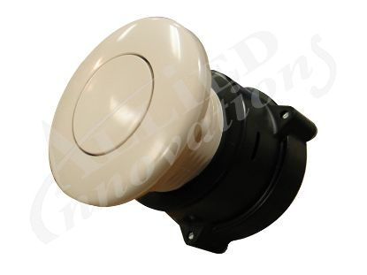 AIR BUTTON: 3242 FLUSH, WHITE MPT-01010-3242