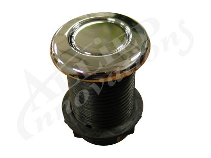 AIR BUTTON: 3428 LOW PROFILE, CHROME MPT-57570-3428