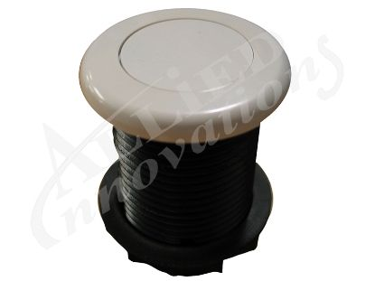 AIR BUTTON: 3428 LOW PROFILE, WHITE MPT-01010-3428