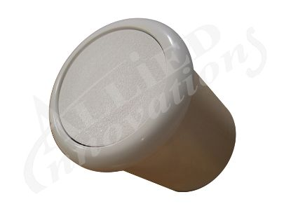 AIR BUTTON: FLUSH, WHITE B318WA  6969
