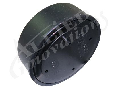 AIR BUTTON: SOFT ACTUATOR, FLUSH MOUNT, BLACK B141BA
