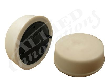 AIR BUTTON: SOFT ACTUATOR, FLUSH MOUNT, WHITE B141WA