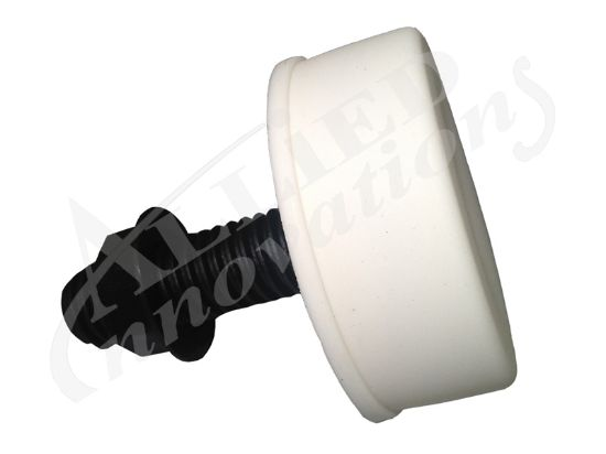 AIR BUTTON: SOFT ACTUATOR, WHITE B142WA