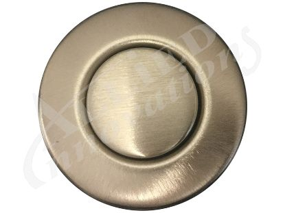 AIR BUTTON TRIM: #15 CLASSIC TOUCH, BRUSHED BRONZE PVD LONG