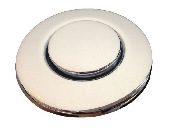AIR BUTTON TRIM: #15 CLASSIC TOUCH, CHROME