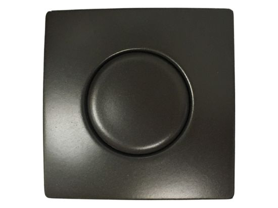 AIR BUTTON TRIM: #20 DESIGNER TOUCH, OIL RUBBED BRONZE, SQUARE