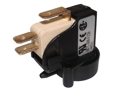 AIR SWITCH: 20AMP SPDT LATCHING RADIAL 6871-AOO-U126