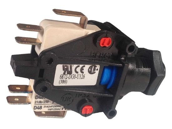 AIR SWITCH: 3-FUNCTION 20AMP DPDT 6872-DGO-U126