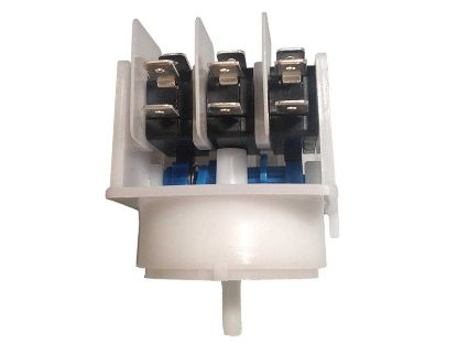 "AIR SWITCH: 4-FUNCTION 21AMP  BLUE CAM 8/32""  CENTER MCB311A"