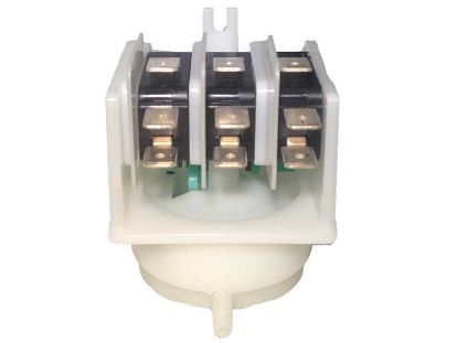 "AIR SWITCH: 4-FUNCTION 21AMP GREEN CAM 8/32"" SIDE MRG311A"