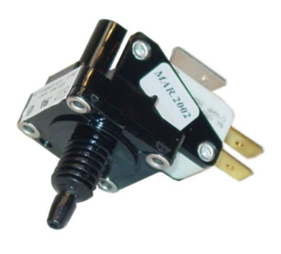 AIR SWITCH: JAG-3 - SPDT - MOMENTARY - 3AMP - PACKAGED