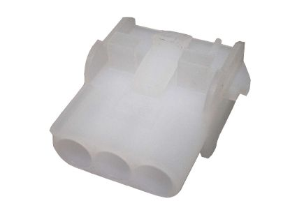 AMP SOCKET: MATE-N-LOCK 3-PIN WHITE 480701-5