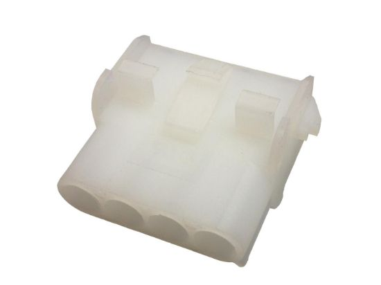 AMP SOCKET: MATE-N-LOCK 4-PIN WHITE 1-480703-0  5-60-0065