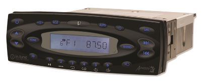 AUDIO: IN.TUNE.100.BK AM-FM RECEIVER/MP3/CD PLAYER BLACK 0700-105001
