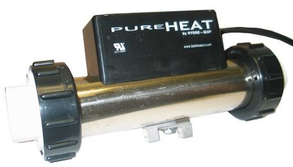BATH HEATER: 1.5KW, 115V, IN-LINE WITH 3' NEMA PLUG - VACUUM PH101-15UV