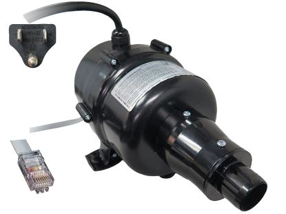 BLOWER: 120V 60HZ WITH BUILT IN CONTROL AND NEMA CORD SLS-6-75-120/60AH-N+CG01
