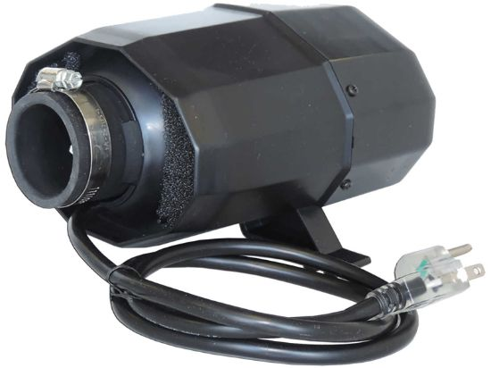BLOWER: 1.5HP 120V WITH NEMA PLUG 3' CORD SILENT AIRE SERIES WITH 600W HEATER ABH-816NS