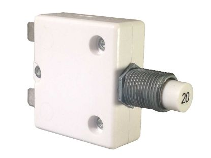 CIRCUIT BREAKER: 20AMP 240V PANEL MOUNT 1600-037-200