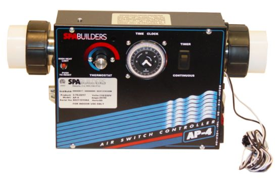 CONTROL: AP-4 240V WITH HEATER 5.5KW AND TIME CLOCK