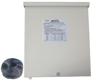 CONTROL: AS-5TD-30MM, WITHOUT BUTTON, 240V, 50/60HZ, 50AMP