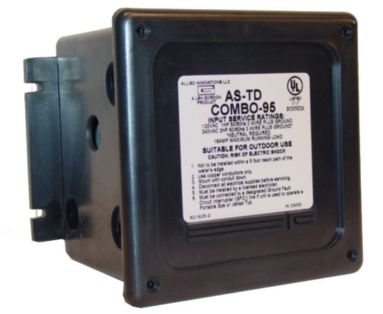 CONTROL: AS-TD COMBO-95-30 MINUTE 120/240V 20AMP WITHOUT BUTTON