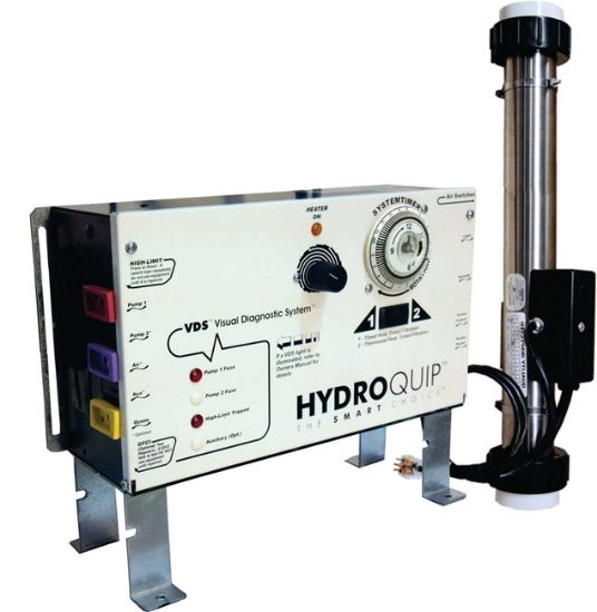 CONTROL: CS6008 WITH HEATER SLIDE, VERSI-HEAT AND INSTALLATION KIT CS6008-U2-VH