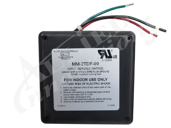 CONTROL: MM-2TD-99 10MIN 240V 2.0HP WITHOUT BUTTON