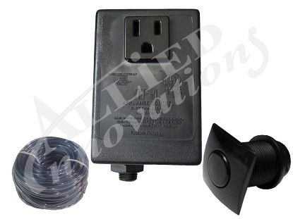 CONTROL: TF-1 120V 1.0HP PKG WITH #20 SQUARE BLACK BUTTON