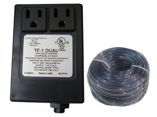 CONTROL: TF-1 DUAL 120V 1.0HP PACKAGE WITHOUT BUTTON