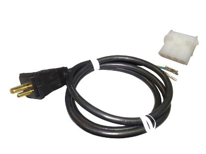 CORD ADAPTER: BLOWER AMP 4-PIN 14/3 WHITE-F TO JJ 36""