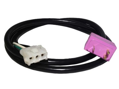 "CORD ADAPTER: BLOWER AMP TO MJJ MOLDED 48"" PURPLE 30-1190-C48"