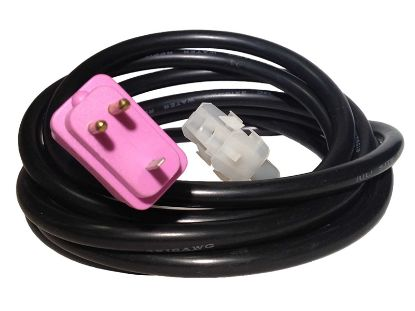 "CORD ADAPTER: BLOWER AMP TO MJJ MOLDED 96"" PURPLE 30-1190-C96"