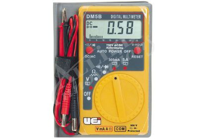 DIGITAL MULTIMETER: POCKET SIZE DM5B