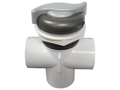 "DIVERTER VALVE: 2"" NOTCHED VERTICAL 2-PORT TOP MOUNT VITA SPA 212068"