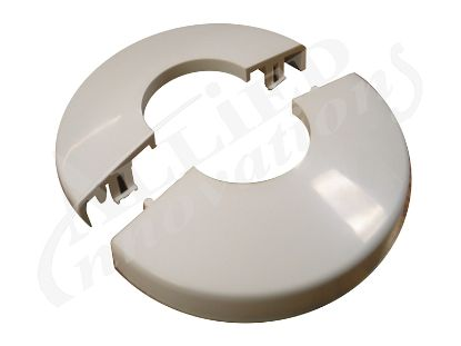 ESCUTCHEON: SNAP-TITE, WHITE (2 PIECES) ST1970WH