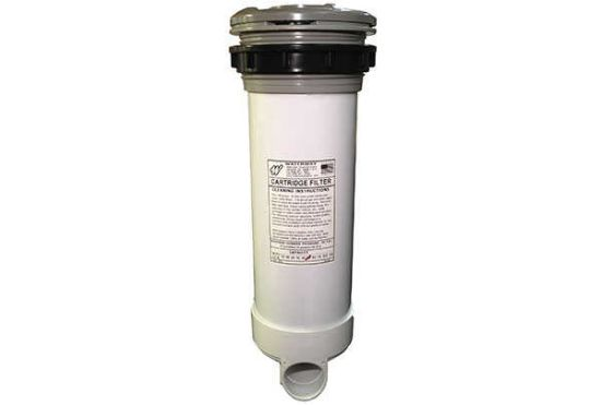 FILTER ASSEMBLY: 50 SQ FT TOP MOUNT LOW VOL 8GPM MINI GRAY 510-4557