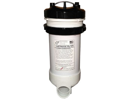 "FILTER ASSEMBLY: TOP LOAD 25 SQ FT WITH BYPASS VALVE 2"" SLIP 502-2510"