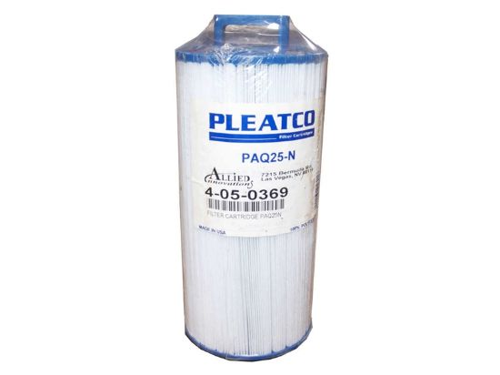 FILTER CARTRIDGE: 25 SQ FT PAQ25N