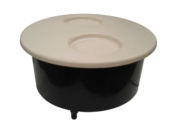 FILTER PART: NICHE  WITH 2-CUP LID AND SCREWS WHITE 500-1020