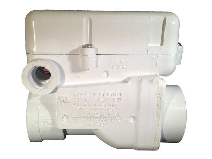 "FLOW SWITCH: 1-1/2"" PVC SLIP CONNECTION 1AMP GRID MODEL 1 57-F4-1000-WHT"