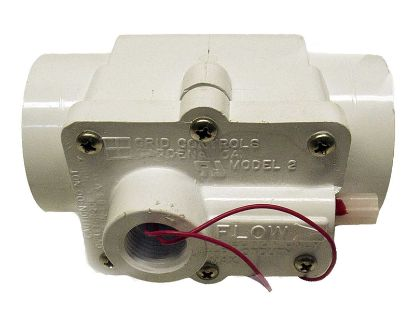 "FLOW SWITCH: 1-1/2"" PVC SLIP CONNECTION 1AMP GRID MODEL 2 57-F1-2000-WHT"