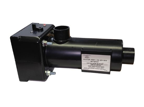 HEATER ASSEMBLY: HT-1 WITH THERMOSTAT AND HI-LIMIT 22-1BAQ-000-111